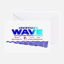 WAVE 970 Greeting Card