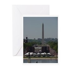 Funny March on dc Greeting Cards (Pk of 10)
