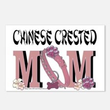 Chinese Crested Mom Postcards (Package of 8)
