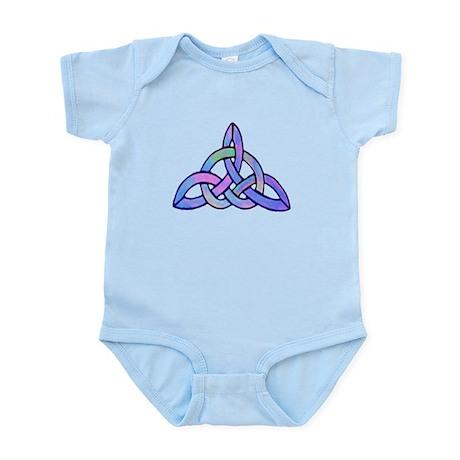 Triquetra Blue Infant Bodysuit