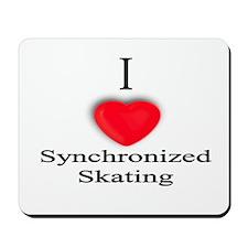 Synchronized Skating Mousepad