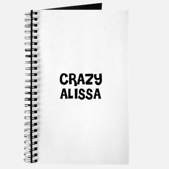 CRAZY ALISSA Journal