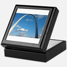 St Louis Arch Keepsake Box