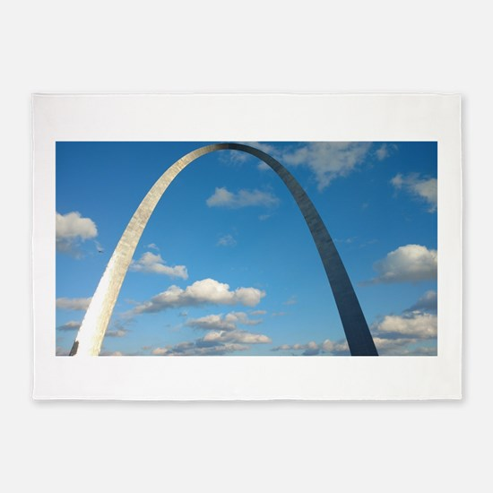 St Louis Arch 5'x7'Area Rug