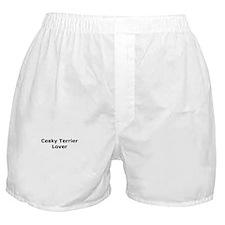 Cute Cesky terrier Boxer Shorts