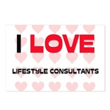 I LOVE LIFESTYLE CONSULTANTS Postcards (Package of