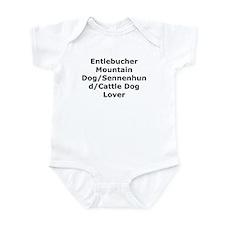 Cute Entlebucher Infant Bodysuit