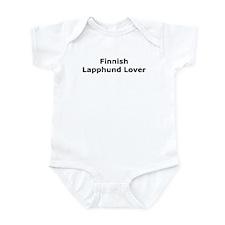Cute Finnish lapphund Infant Bodysuit