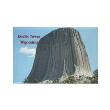 Devils Tower Rectangle Magnet