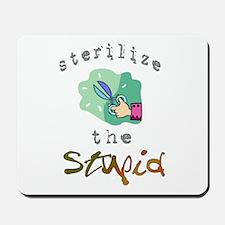Sterilize the Stupid Mousepad