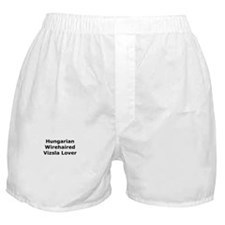 Cute Wirehaired vizsla Boxer Shorts