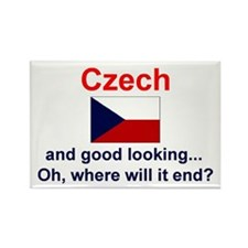 """Good Looking Czech Magnet (3""""x2"""")"""