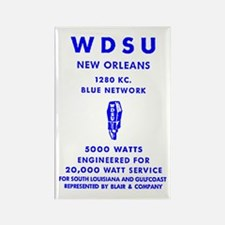 WDSU 1280 Rectangle Magnet (10 pack)