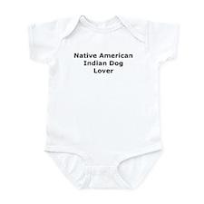 Cute Native american lover Infant Bodysuit