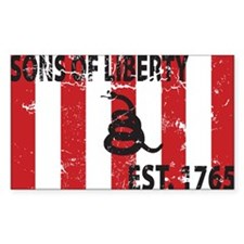 Sons of Liberty Est. 1765 Rectangle Decal