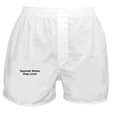 Unique Spanish water dog Boxer Shorts