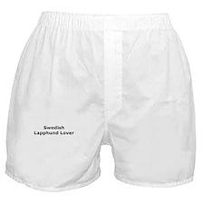 Cute Swedish lapphund Boxer Shorts