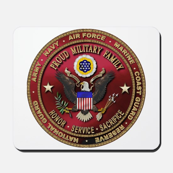 Proud Military Family Mousepad