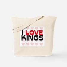 I LOVE KINGS Tote Bag