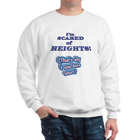 I'M SCARED OF HEIGHTS Why I w Sweatshirt