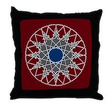 12-point Arabesque Knotwork Throw Pillow