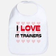 I LOVE IT TRAINERS Bib