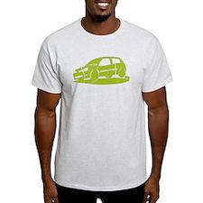 Patchwork Clio Green T-Shirt