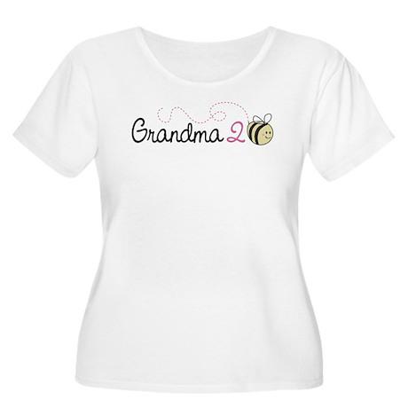 Grandma To Bee Women's Plus Size Scoop Neck T-Shir
