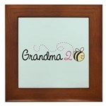 Grandma To Bee Framed Tile