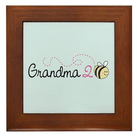 Grandma To Bee Framed Tile