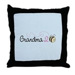 Grandma To Bee Throw Pillow