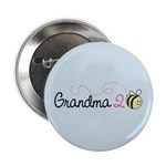 "Grandma To Bee 2.25"" Button (100 pack)"