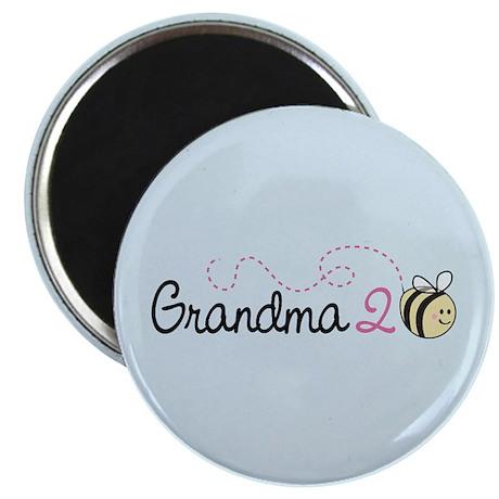 """Grandma To Bee 2.25"""" Magnet (100 pack)"""