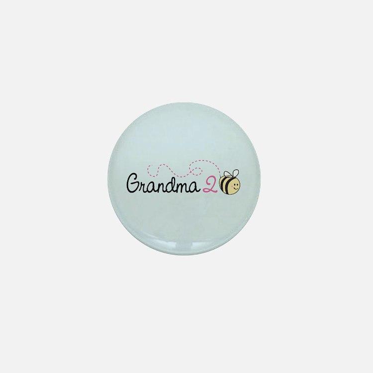Grandma To Bee Mini Button