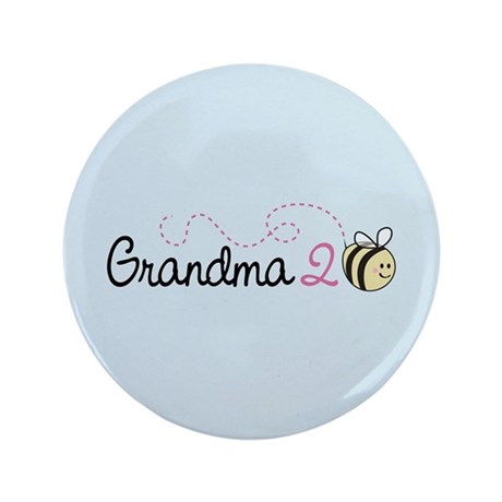 "Grandma To Bee 3.5"" Button"