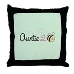 Auntie To Bee Throw Pillow