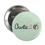 "Auntie To Bee 2.25"" Button"