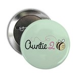 "Auntie To Bee 2.25"" Button (100 pack)"