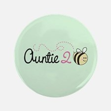 """Auntie To Bee 3.5"""" Button (100 pack)"""