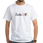 Auntie To Bee White T-Shirt