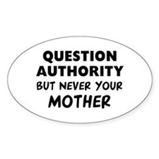 Question Mother Stickers