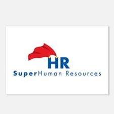 Unique Human resources Postcards (Package of 8)