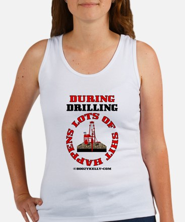Shit Happens During Drilling Women's Tank Top