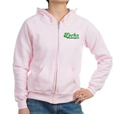 I'd Rather Be In Forks Zip Hoodie