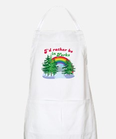 I'd Rather Be In Forks BBQ Apron