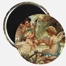 "Victorian Angels by Zatzka 2.25"" Magnet (10 pack)"