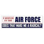 Air Force Bumper Sticker (10 pk)