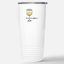 Chardonnay Drinker Stainless Steel Travel Mug