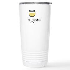 Chardonnay Drinker Travel Mug