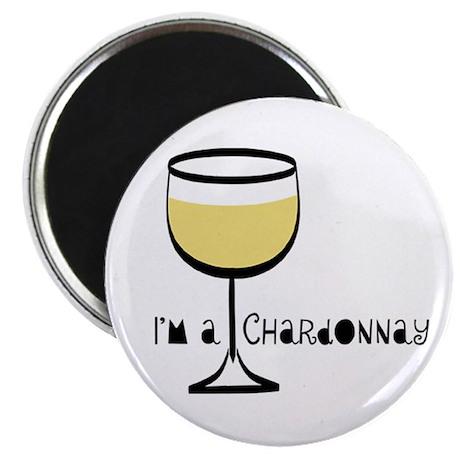 "Chardonnay Drinker 2.25"" Magnet (10 pack)"